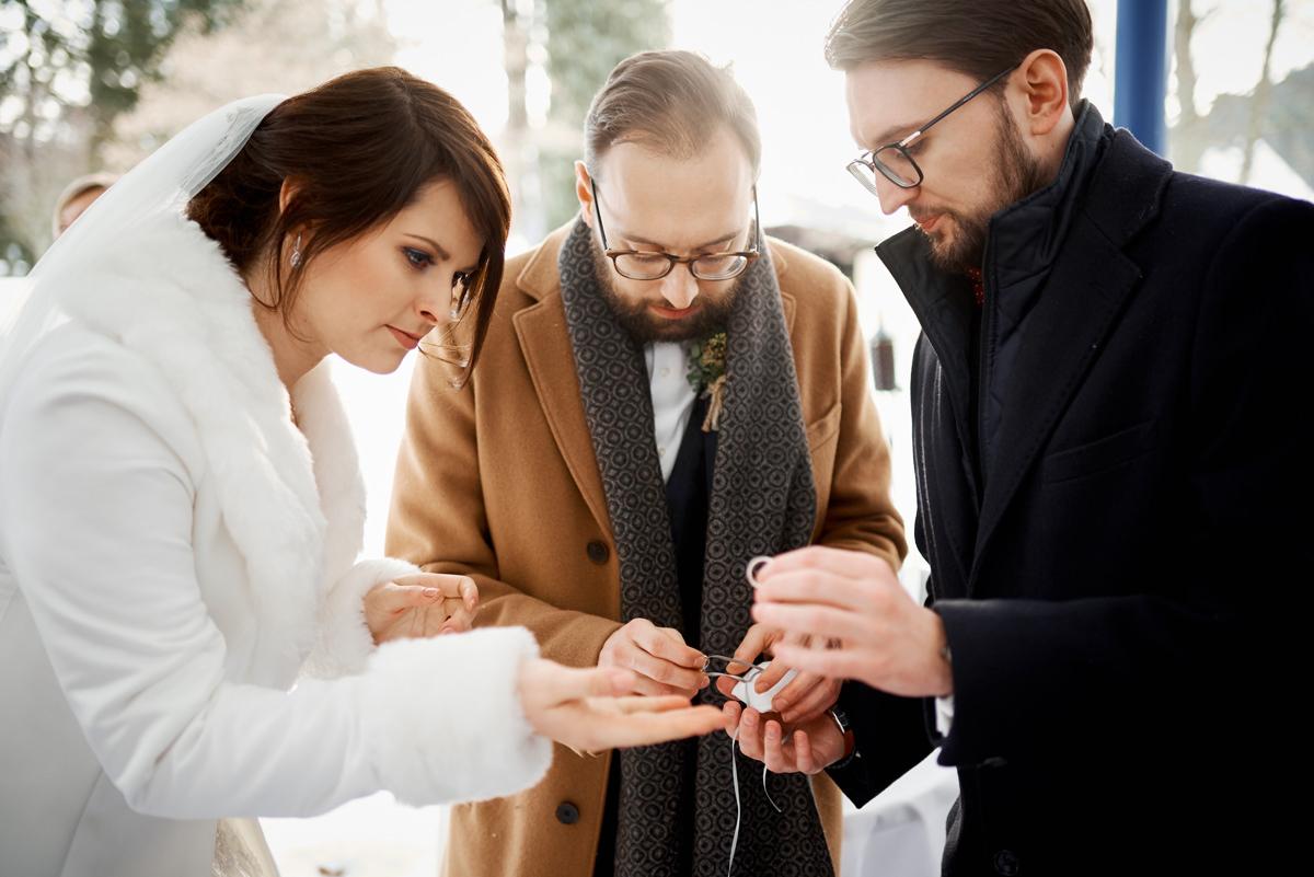 Hochzeitsfotograf Winterhochzeit